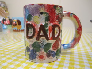 Painted Dad Mug