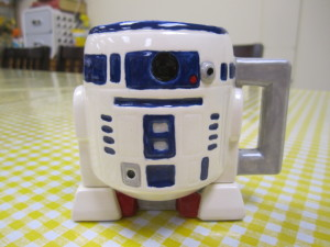 Painted R2D2