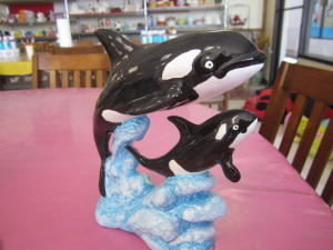 PAINTED KILLER WHALES