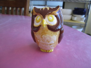 PAINTED GB OWL